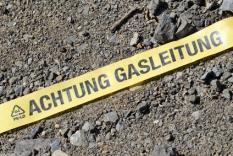 Achtung Gasleitung!