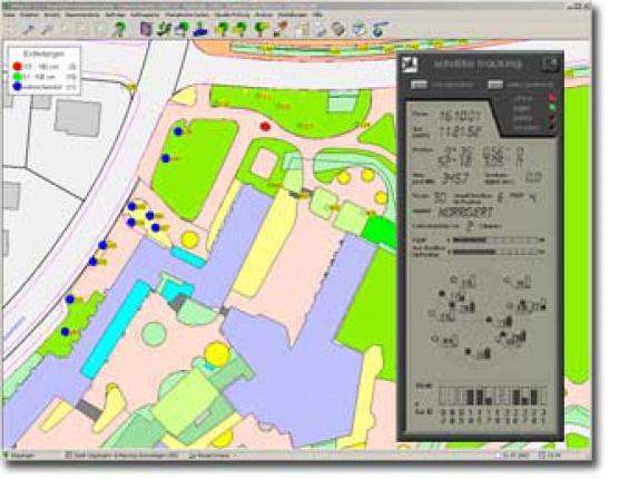 GPS-Modul als Option für das ArborIS Baumkataster